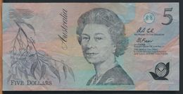 °°° AUSTRALIA - 5 $ DOLLARS °°° - Emissioni Governative Decimali 1966-...