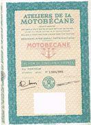 Action Ancienne - Ateliers De La Motobécane - Automobile