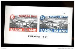 SANDA  ISLAND  EUROPA 1964 **  Pont  Bridge - Local Issues