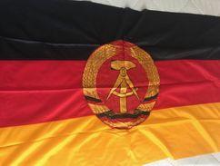 Drapeau DDR - Allemagne De L'Est - 80 X 135 - Bandiere