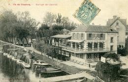 ILE De CHATOU - Garage Des Canots - Chatou