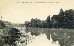 CHATOU - Bords De La Seine Et Le Pont - Chatou