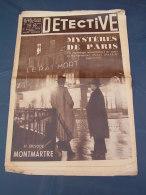 Détective 1935 323 MONTELIMAR SAINT JEAN DES VIGNES SEVRES ALBERT FISH MONTMARTRE - Newspapers