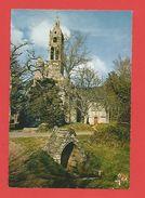 """C.P.S.M.  (29)  """"Chapelle Notre -Dame Des Trois Fontaines  """" Et L'une De Ses Fontaines Légendaires / 2 Photos. - Gouézec"""