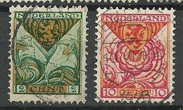 NEDERLAND Netherland 1925 Michel 164 & 166 O - 1891-1948 (Wilhelmine)