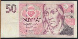 °°° CZECH REPUBLIC - 50 KORUN 1993 °°° - Czech Republic