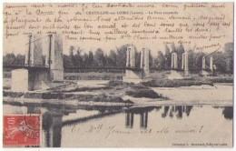 (45) Chatillon Sur Loire, 109, Marchand 982, Le Pont Suspendu - Chatillon Sur Loire