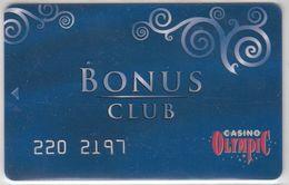 ROMANIA KEY CASINO Olympic  -  Bucharest - Casino Cards