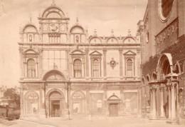 Italie Venise Venezia Basilica Di San Giovanni E Paolo & Hopital Ancienne Photo 1890 - Old (before 1900)
