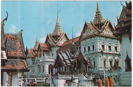 TAILANDIA - THAILAND - THAILANDE - 1977 - Air Mail - 3 + 2 - The Grand Palace - Bangkok - Viaggiata Da Bangkok Per Roma, - Tailandia
