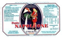 Etiquette Label EAU NAPOLEONE (NAPOLEON / CORSE) - Source De L'ILE D'ELBE / ITALIE - Publicidad