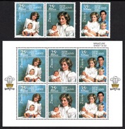 NEW ZEALAND 1985 Health Stamps: Set Of 3 Stamps + Miniature Sheet UM/MNH - Nuevos