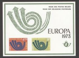 1973   Europa  Feuillet De Luxe    COB 1669-70 - Libretti Di Lusso