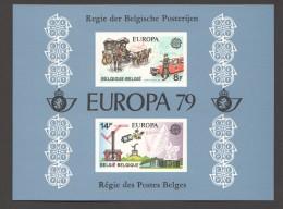 1979   Europa  Feuillet De Luxe    COB  1930-1 - Libretti Di Lusso
