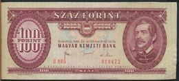 °°° HUNGARY - 100 FORINT 1980 °°° - Ungheria