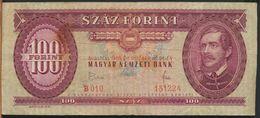 °°° HUNGARY - 100 FORINT 1968 °°° - Ungheria