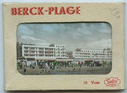 62 - BERCK- PLAGE - Pochette De10 Vues Couleur (9 X 6,5) - Albums & Collections