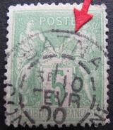 LOT GD/V101 - SAGE Type II N°106 - CàD : BATNA (CONSTANTINE / ALGERIE) 10 FEVRIER 1900 - 1876-1898 Sage (Type II)