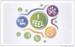 Slovenia Basketball Cards  Stickers - Nr. 157 EuroBasket 2013 Logo - Adesivi