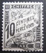 LOT GD2/145 - TIMBRE TAXE 1881 TYPE DUVAL N°15 - CàD - 1859-1955 Gebraucht