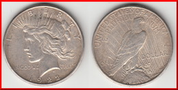 **** USA - ETATS-UNIS - UNITED STATES - ONE DOLLAR 1922 S - 1 DOLLAR 1922 S PEACE - SILVER **** EN ACHAT IMMEDIAT !!! - Federal Issues
