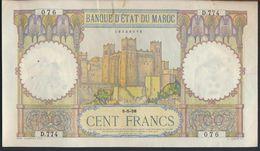 °°° MAROC MOROCCO - 100 FRANCS 5/5/1938 °°° - Marocco