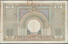 °°° MAROC MOROCCO - 50 FRANCS 23/9/1936 °°° - Marocco