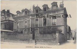 38 - GRENOBLE - Maison SAYN - 31, Rue Thiers / PENSION +++++ Sans éditeur ++++++ RARE - Grenoble