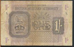 °°° UK - BRITISH MILITARY AUTHORITY 1 POUND S °°° - Emissioni Militari