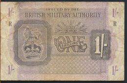 °°° UK - BRITISH MILITARY AUTHORITY 1 POUND R °°° - British Military Authority