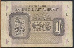 °°° UK - BRITISH MILITARY AUTHORITY 1 POUND L °°° - Emissioni Militari