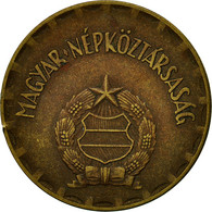 Hongrie, 2 Forint, 1971, Budapest, TTB, Laiton, KM:591 - Hungary