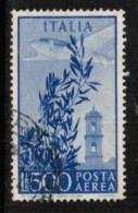 ITALY  Scott # C 125 VF USED - 1946-.. Republiek