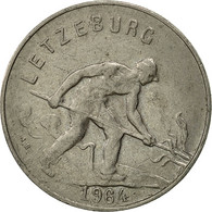 Luxembourg, Charlotte, Franc, 1964, TTB, Copper-nickel, KM:46.2 - Luxembourg
