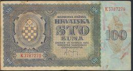 °°° CROAZIA - 100 KUNA 1941 °°° - Croatie