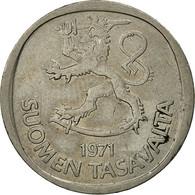 Finlande, Markka, 1971, TTB, Copper-nickel, KM:49a - Finlande