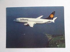 .. POSTCARD AIRLINE ISSUED LUFTHANSA 1980ys AIRPLANE B737 AIRPLANES AIRCRAFT Z1 - Flugwesen