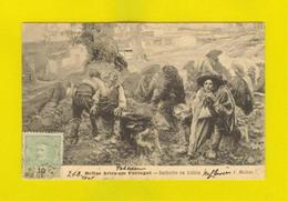 Rare Postcard Tcv Stamp 1907 PORTUGAL BARBEIRO NA ALDEIA Barber Shaver  Z1 - Postcards