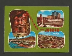 1960years Postcard GREETINGS From JORDAN Archeology History Z1 - Postcards