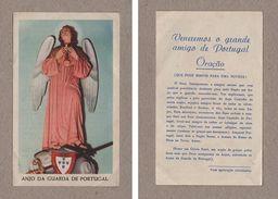 Vintage HOLLY CARD ANGEL OF PORTUGAL ANJO DA GUARDA Angels CATHOLIC RELIGION Z1 - Postcards