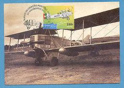 MAXICARD  PORTUGAL To MACAU MACAO AIRPLANE Airplanes Z1 - Postcards