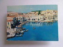 POSTCARD Stamps GREECE  CRETE CRETA KRETA RETHYMNON 1970 Years  Z1 - Postcards