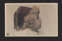 ART TINTED Postcard 1900 Year TURKEY ? TURQUIE ETHNIC BOY & Top Hat Z1 - Postcards