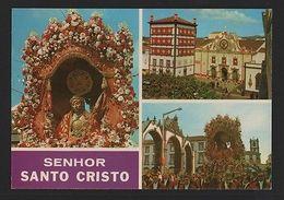 PORTUGAL AZORES SÃO MIGUEL PONTA DELGADA SANTO CRISTO AÇORES ST MICHAEL 60s Z1 - Postcards