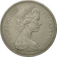 Grande-Bretagne, Elizabeth II, 10 New Pence, 1970, TTB, Copper-nickel, KM:912 - 1971-… : Monnaies Décimales