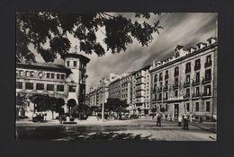 SANTANDER Postcard 1950 Years POST OFFICE CORREOS Street Scene SPAIN ESPAÑA Z1 - Postcards