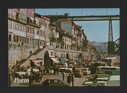 Postcard PORTUGAL 1980s PORTO Cars Car MORRIS MINI AUSTIN RENAULT TOYOTA FORD - Postcards