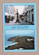 ST. MAARTEN  Caribbean Postcard  1980years Street Scene & Views Z1 - Unclassified