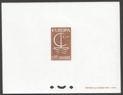 1966  Europa Epreuve De Luxe Yv 178 - Französisch Andorra