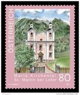 Austria 2017 Mih. 3356 Church Of Maria Kirchental In Sankt Martin Bei Lofer MNH ** - 2011-.... Ongebruikt